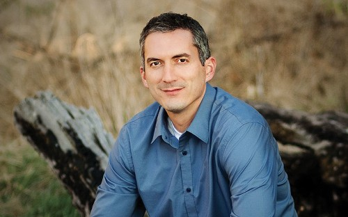 On the Red Couch with Author James Dashner