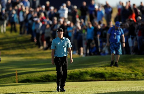 Briton Shinkwin takes one-shot lead in KLM Open first round