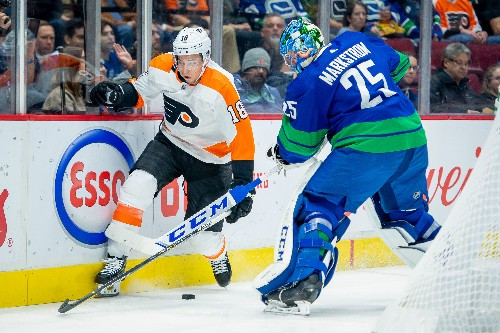 Pearson, Canucks top Flyers in shootout