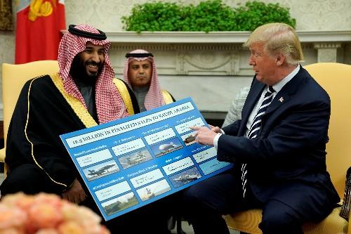 U.S. weapons makers rattled over Saudi Arabia deals