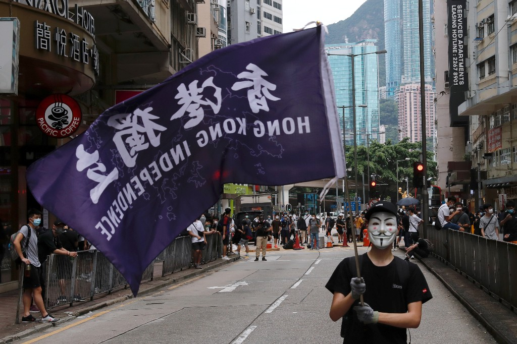 China legislation on Hong Kong could lead to U.S. sanctions, White House says