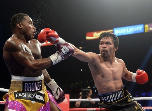 Boxing: Pacquiao dominates Broner in unanimous decision win