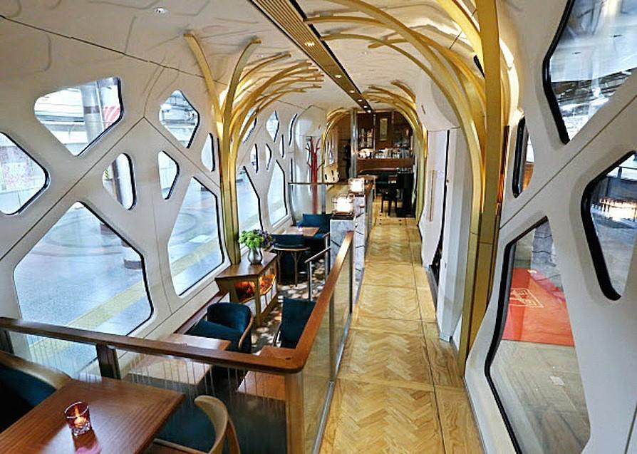 Luxury sleeper train by Ferrari designer embarks on maiden voyage