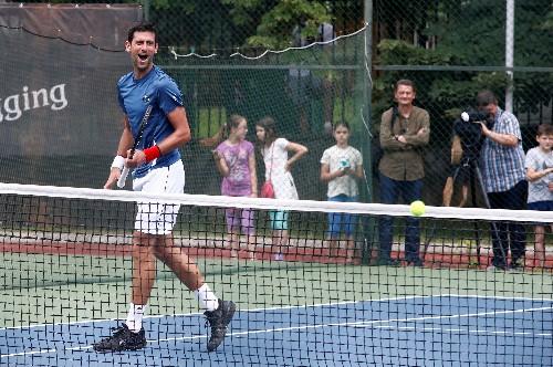 No grass courts? No problem, says Wimbledon king Djokovic