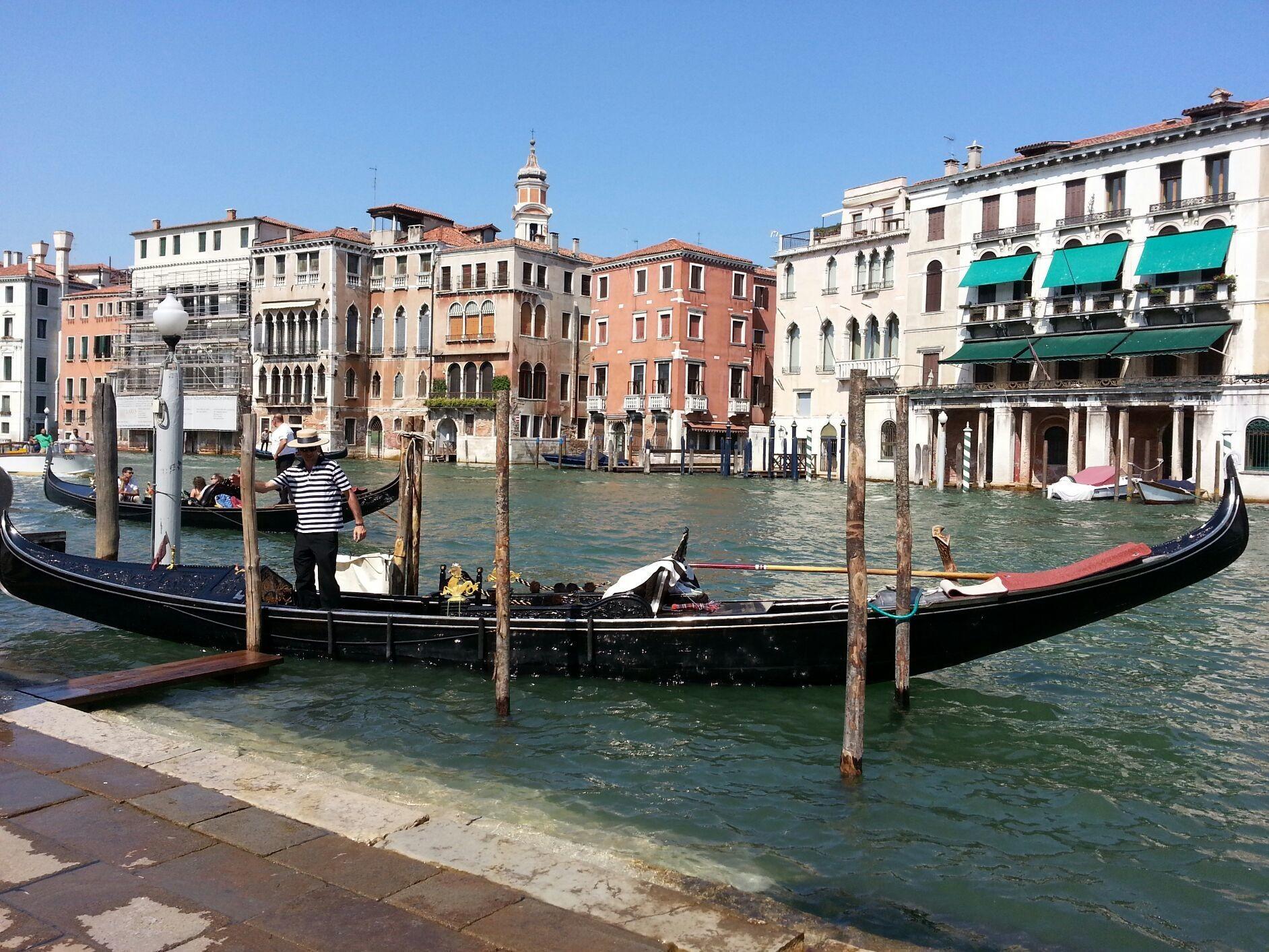 Venezia gondoliers