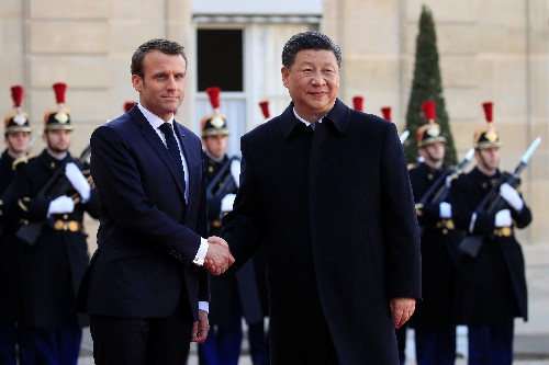 France seals multi-billion dollar deals with China, but questions Belt and Road project