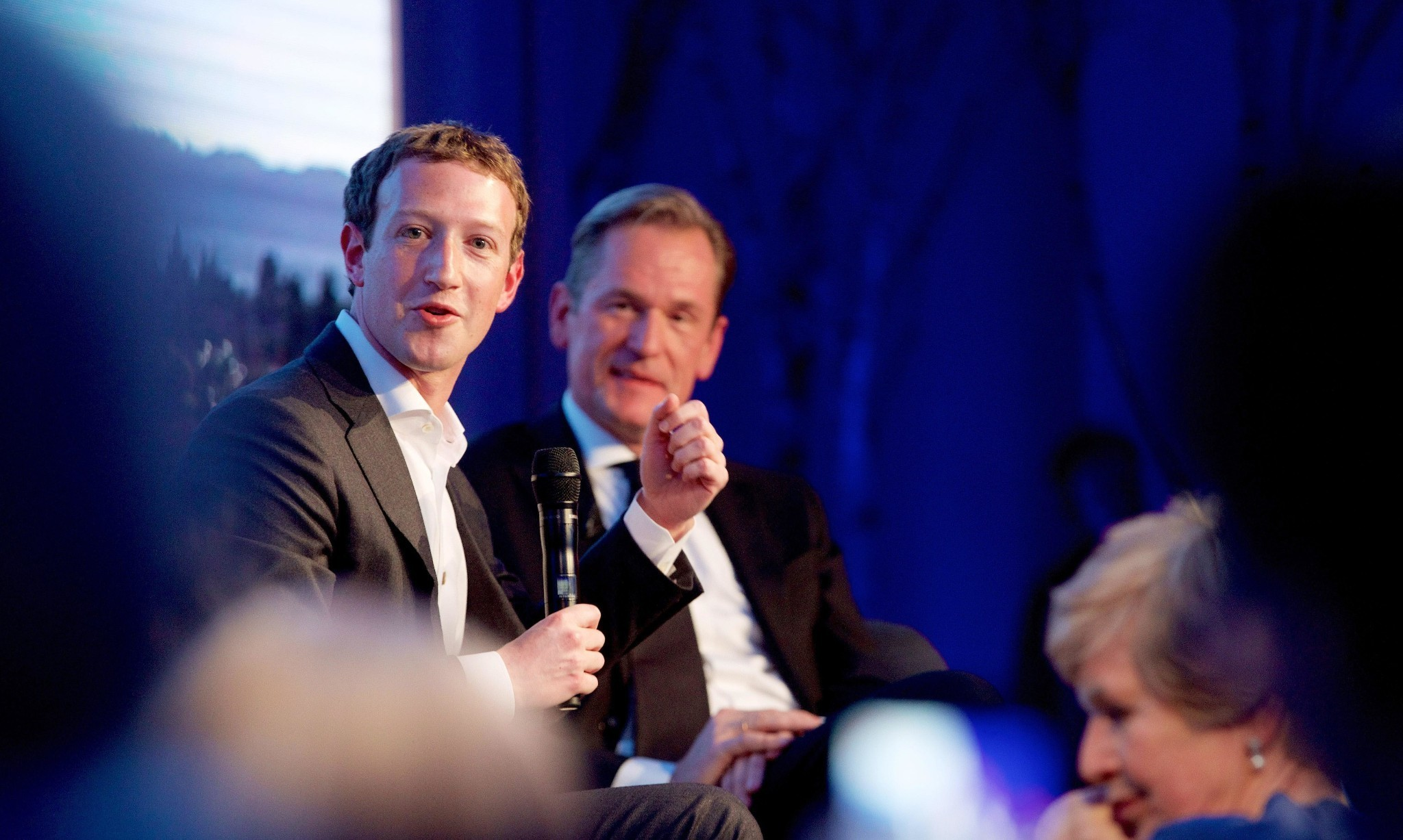 Mark Zuckerberg in Germany: 'Hate speech has no place on Facebook'