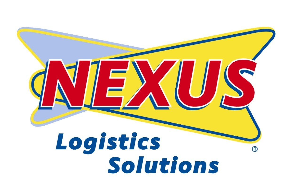 Sonic remix logo for NeXus Logistics.