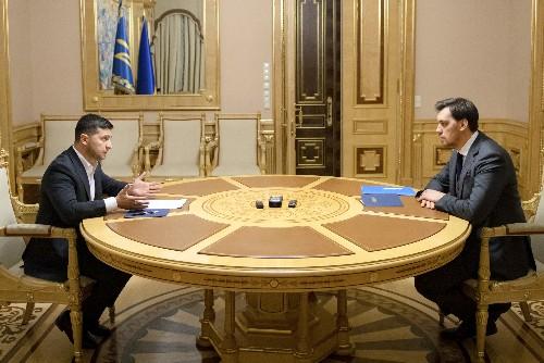 Ukrainian president rejects prime minister's resignation
