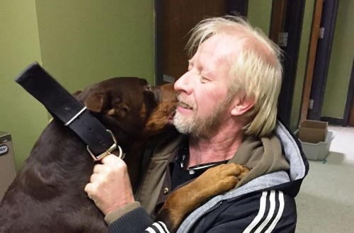 Missing Dog Reunited With Owner After 3 Years Couldn't Stop 'Jumping And Wiggling'