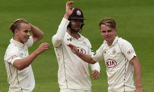 Surrey's Tom Curran called up by England as cover for injured Jake Ball