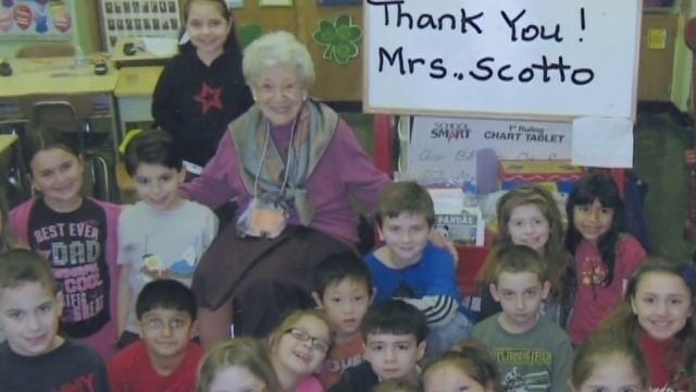 100-year-old woman still teaching - CNN Video