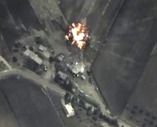 Russian Airstrikes in Syria: Pictures