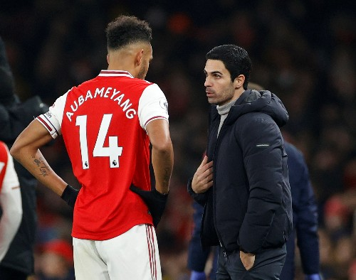 Arteta hopes to convince Aubameyang to stay at Arsenal