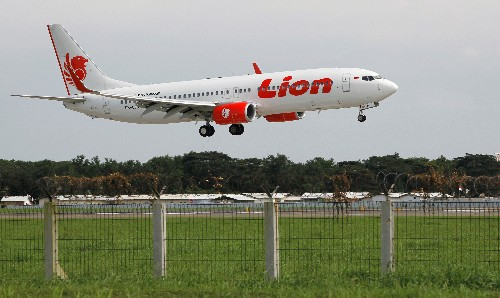 Lion Air says November passenger numbers fell less than 5 percent after deadly crash