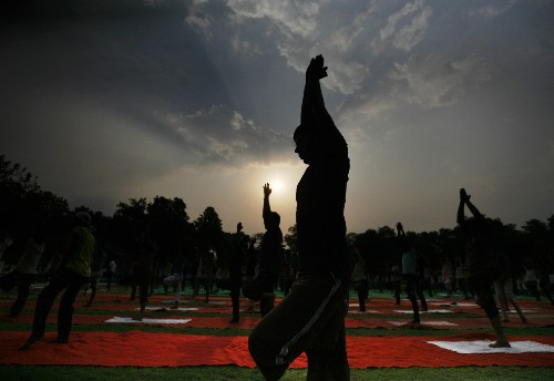 World Yoga Day in Pictures