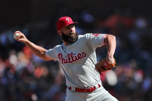 MLB notebook: Phillies' Arrieta could miss rest of season