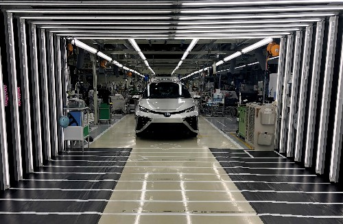 Toyota to develop hydrogen fuel cars with Chinese partners FAW, GAC