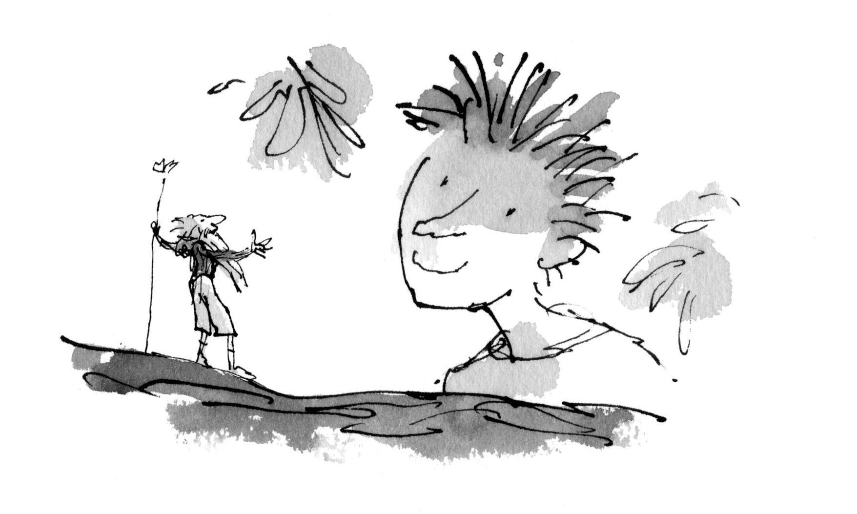 Quentin Blake: 'A new Roald Dahl character to draw, nearly 40 years after my first'