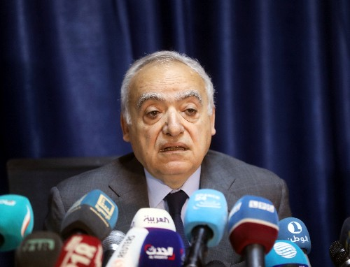 U.N. to hold conference in Libya in April to discuss conflict solution