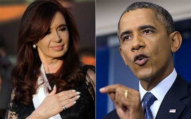 Argentina files legal proceedings with UN against Obama government