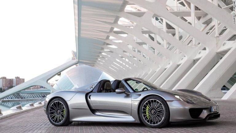 Porsche 918 may lead to plug-in 911 - Jun. 9, 2014