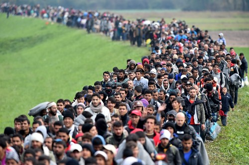 The Migrant March of 2015 in Pictures