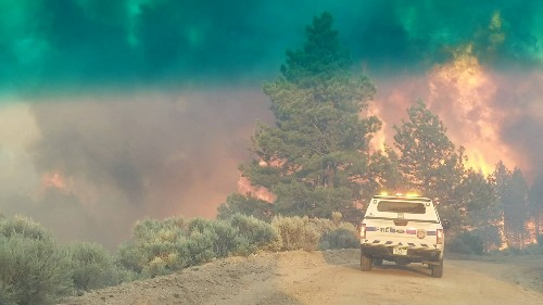 Fast-spreading California wildfire forces evacuations in Yolo County