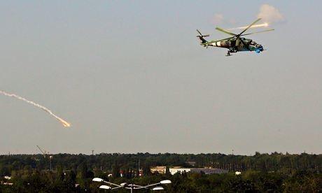 Poroshenko promises calm 'in hours' amid battle to control Donetsk airport