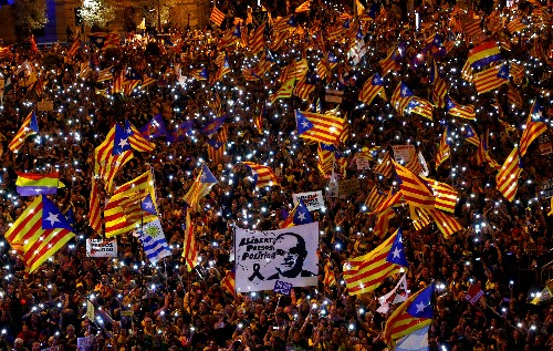 Catalan officials charged with helping organize 2017 independence vote