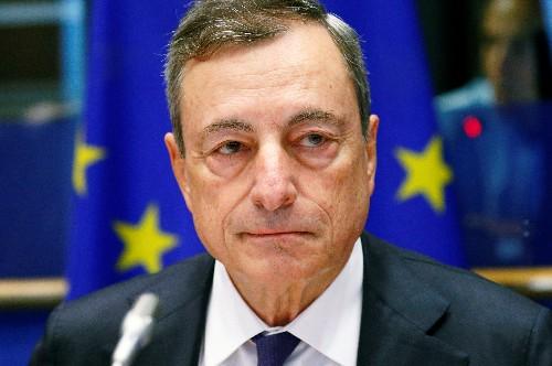 ЕЦБ удовлетворен ситуацией в экономике, но не забывает о рисках - Драги