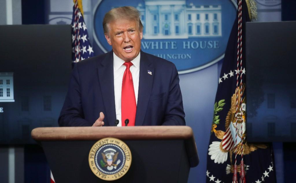 Trump - Virus ist soweit es geht unter Kontrolle