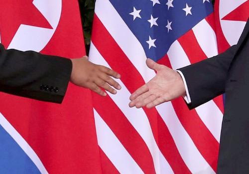 U.S., North Korea in behind-the-scenes talks over third summit, Moon says