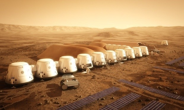 Mars or bust: the new space race to put humans on the red planet