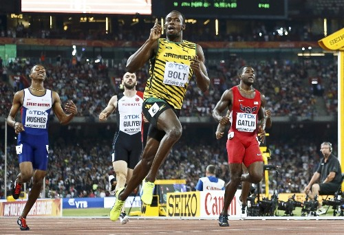 Bolt Wins Again at World Athletics Championships