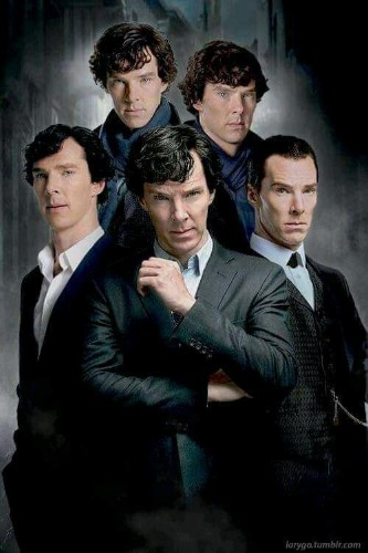 Benedict Timothy Carlton Cumberbatch   Wm Sherlock Scott Holmes - cover