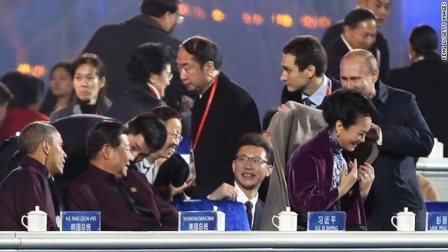 Cut the shawl talk: Chinese censors wipe Putin's move on China's First Lady