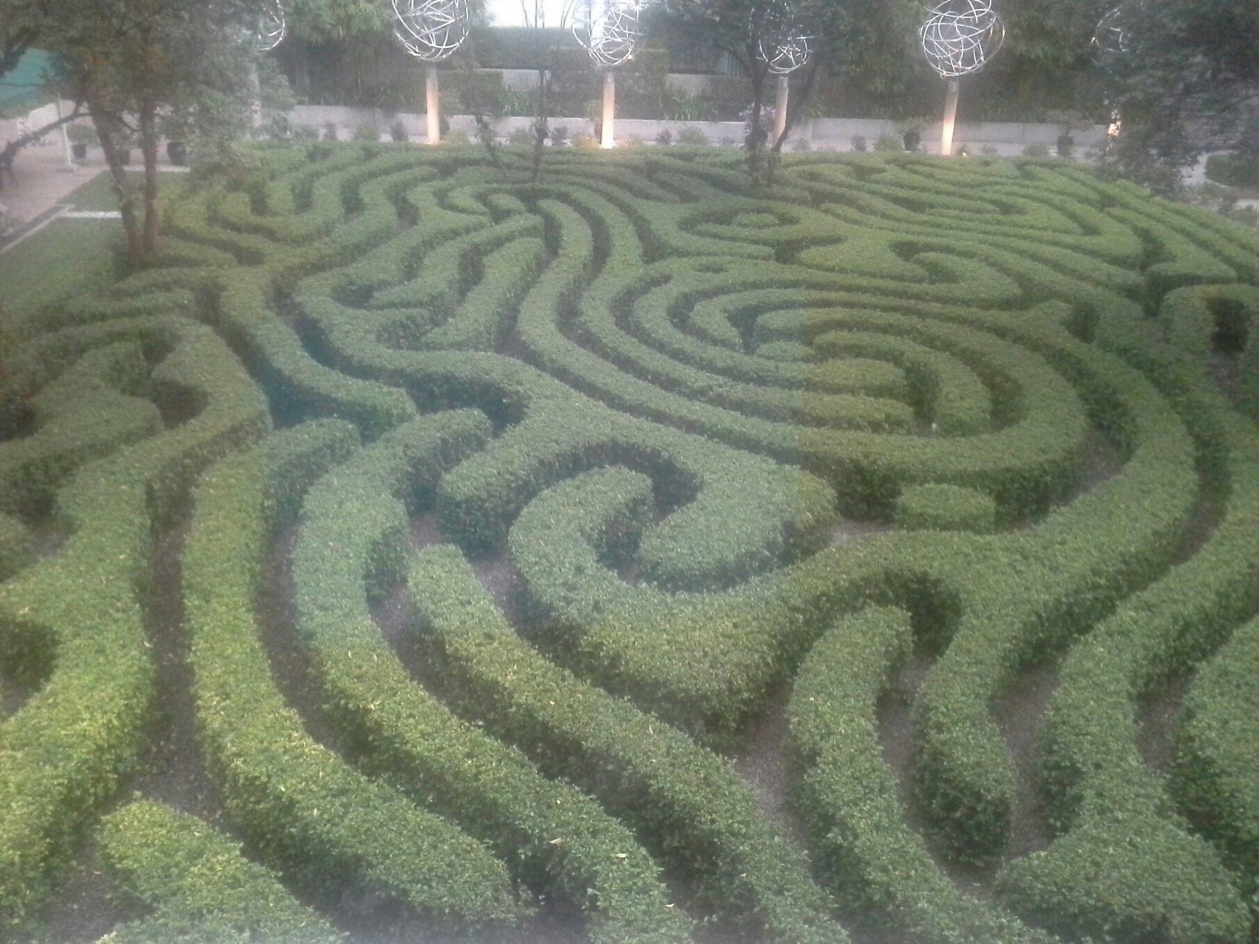 Maze Garden at Shangri-la Hotel