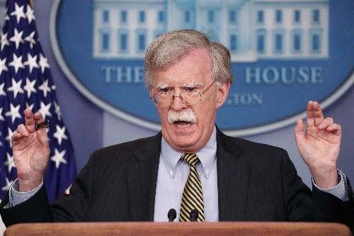 米、中国の南シナ海での軍事行動に反対=ボルトン大統領補佐官