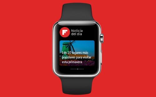 Un primer vistazo a Flipboard para Apple Watch