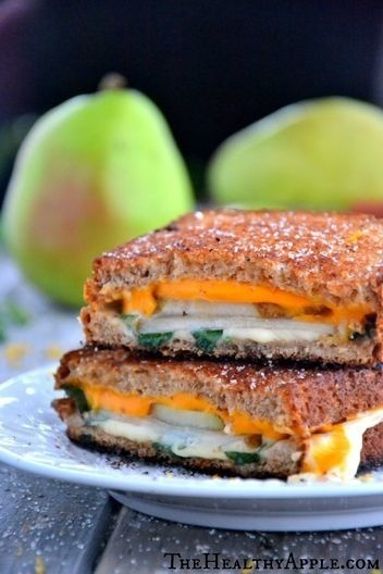 Vegetarian Grilled Cheese