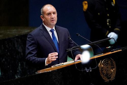 Bulgarian president raps government over graft, says it endangers nation