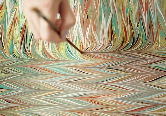 All About Marbling - Magazine cover