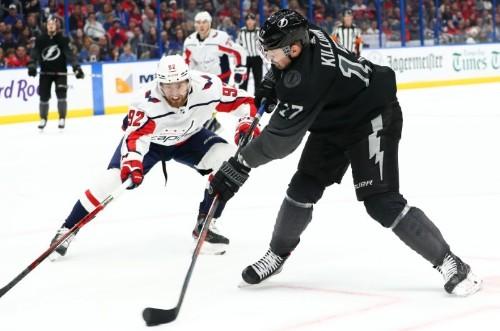 NHL roundup: Caps rout Lightning after Kucherov hurt