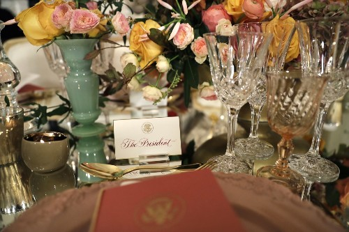 Mario Batali Caters Obama's Last State Dinner: Pictures