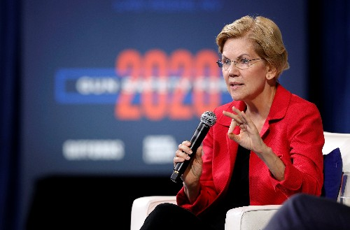 Democrat Warren vows to boost worker protections, strengthen unions