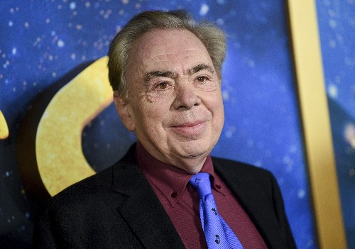 Andrew Lloyd Webber shares musicals online; actor diagnosed