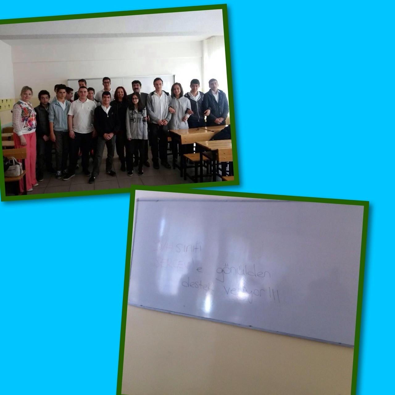 SERÇEV,Okullarda serebral palsiyi tanıtmaya devam ediyor... Serçev,karakusunlar İMKB mesleki ve teknik Anadolu lisesi 9/H sınıfında dernek tanıtımıyla başlayarak,kaynaştırmanın önemi ve serebral palsi hakkında bilgilendirme semineri gerçekleştirilmiştir...