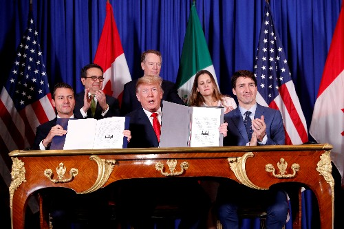 Trump team readies PR offensive on North America trade deal's economic effects