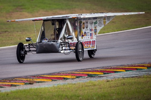 Day 1 of World Solar Challenge: Pictures